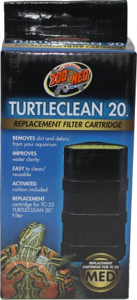 Zoo Med Laboratories Inc turtleclean replacement filter cartridge - 20 gallon, 24 ea