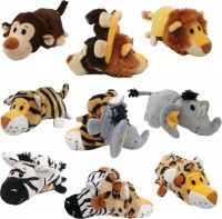 Ethical Dog flip a zoo wildlife series - 12 inch, 48 ea