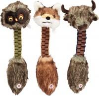 Ethical Dog furzz braided plush toy - 13 inch, 48 ea