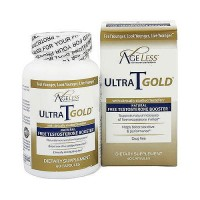Ageless foundation ultra T gold all natural free testosterone booster capsules - 60 ea
