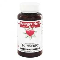Kroeger Herbs Turmeric 900 mg Vegetarian Capsules - 100 ea