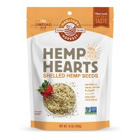 Hemp Hearts Raw Shelled Hemp Seeds - 16 oz