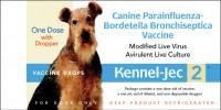 Durvet - Pet D kennel-jec 2  intra-nasal - 1 dose, 100 ea