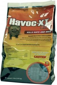 Neogen Rodenticide D havoc xt blok rodenticide bait - 8 pound, 4 ea