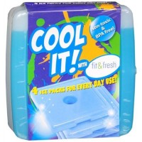 Fit and fresh cool coolers replacement ice packs - 1 ea