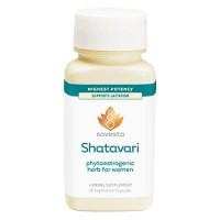 Avesta shatavari phytoestrogenic herb for women highest potency vegetarian capsules, 60 ea