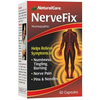 NaturalCare Nervefix homeopathic capsules - 60 ea