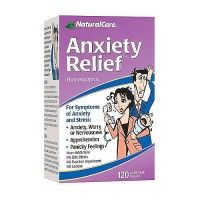 NaturalCare Anxiety Relief Tablets, Homeopathic - 120 ea