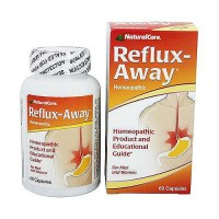 NaturalCare Reflux-away homeopathic capsules - 60 ea