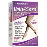 NaturalCare Ultra Vein-gard homeopatjic capsules for legs - 60 ea