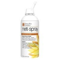 Himalayan institute press neti spray strile saline spray  -  4.2 oz