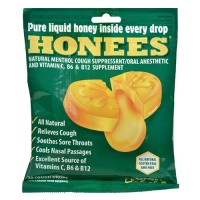 Honees cough drops extra large menthol - 20 ea
