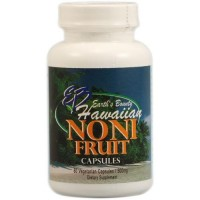 Earth's bounty hawaiian noni fruit - 60 ea