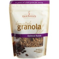 Erin bakers homestyle granola oatmeal raisin - 12 oz, 6 pack