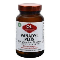 Olympian Labs vanadyl plus with chromium 10 mg capsules - 100 ea