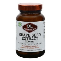 Olympian Labs grape seed extra strength 200mg - 100 capsules
