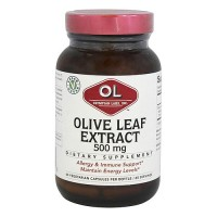 Olympian Labs Olive Leaf Extract 500 mg Vegetarian Capsules - 60 ea