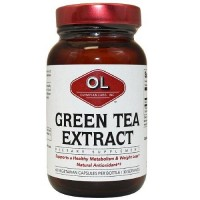 Olympian Labs All Natural Green Tea Extract 500 mg - 60 Capsules