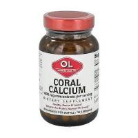 Olympian Labs coral calcium 1000 mg capsules - 90 ea