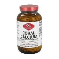 Olympian Labs coral calcium 1000 mg capsules - 270 ea