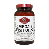 Olympian Labs omega-3 fish oils softgels - 240 ea