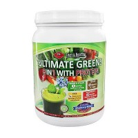 Olympian Labs ultimate greens protein 8 in 1 with hemp protein - 18.76 oz