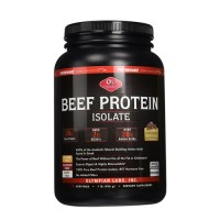 Olympian Labs Beef Protein Isolate, Rich Dark Chocolate - 1 lb
