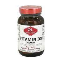 Olympian labs vitamin D3 iu capsules 3000 - 100 ea