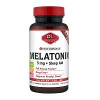 Olympian labs melatonin 5mg fast dissolve - 60 ea