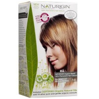 Naturigin permanent natural organic based hair color, natural medium blonde 7.0 - 1 ea