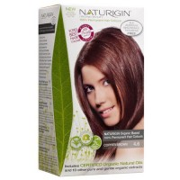 Naturigin permanent natural organic based hair color, copper brown 4.6 transformation - 1 ea