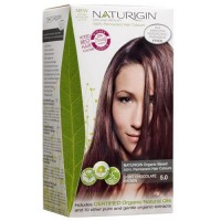 Naturigin permanent natural organic based hair color, light chocolate brown 5.0 - 1 ea