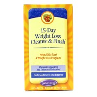 Nature's secret 15 day weight loss cleanse flush, tablets - 60 ea