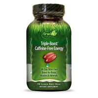 Irwin naturals triple boost caffeine free energy softgels - 75 ea