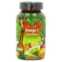Irwin naturals childrens omega 3 citrus chews - 30 ea