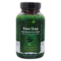 Irwin naturals vision sharp multi nutrient eye health - 42 ea