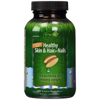 Irwin naturals healthy skin and hair plus nails softgels - 60 ea