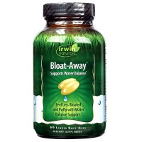 Irwin naturals bloataway diuretic for water  balance , liquid softgels - 60 ea