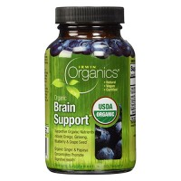 Irwin naturals organic brain support diet supplement - 60 ea