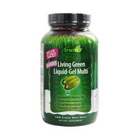 Irwin naturals living green liquid gel multi for women - 120 ea
