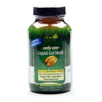 Irwin naturals only one liquid gel multi without iron softgels - 60 ea
