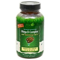 Irwin Naturals Mega B Complex with Quick Energy MCTs - 60 Soft gels
