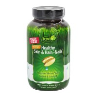 Irwin naturals healthy skin and hair plus nails - 120 ea