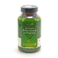Irwin naturals active cleanse and probiotics softgels - 60 ea