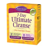 Nature's secret 7 day ultimate cleanse supplement - 72 ea