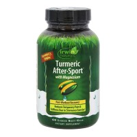 Irwin naturals turmeric after sport with magnesium - 60 ea