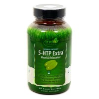 Irwin naturals double potency 5-htp extra softgel - 60 ea