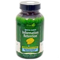 Irwin naturals mental clarity information retention supplement - 60 ea
