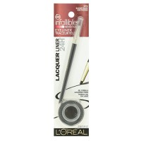 Loreal paris infallible gel lacquer eyeliner, blackest black - 2 ea, 2 pack