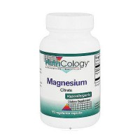 NutriCology Magnesium Citrate 170 mg capsules support for bone function - 90 ea